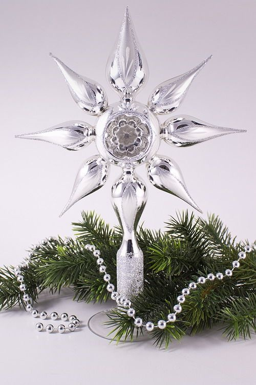 christbaumspitze stern christbaumschmuck und weihnachtskugeln aus glas. Black Bedroom Furniture Sets. Home Design Ideas