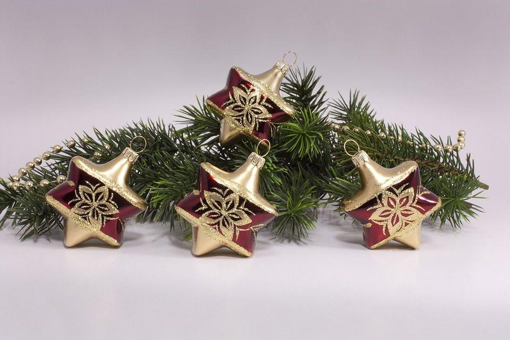 4 Sterne Stierglanz mit Bronzedekor