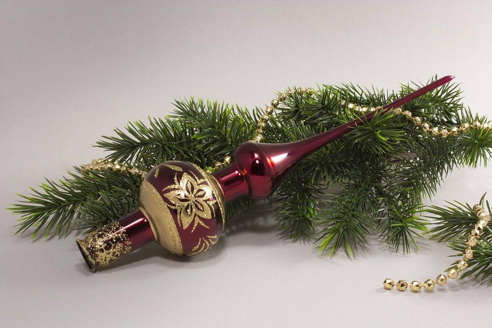 Weihnachtsbaumspitze Christbaumspitze Stierglanz Stierblut