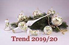 brandneu - Eisweiss grün / gold Trend 2019/2020
