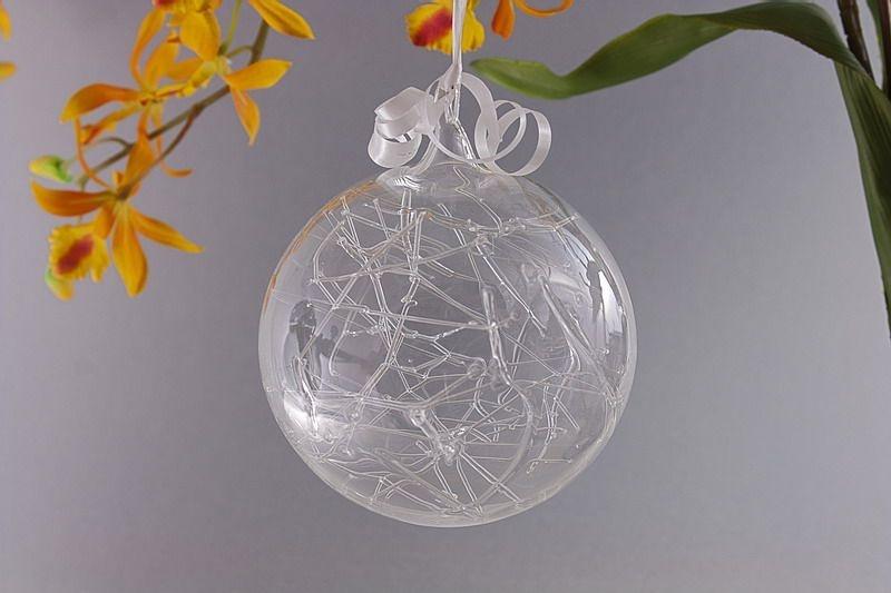 Traumkugel aus Glas 10cm transparent