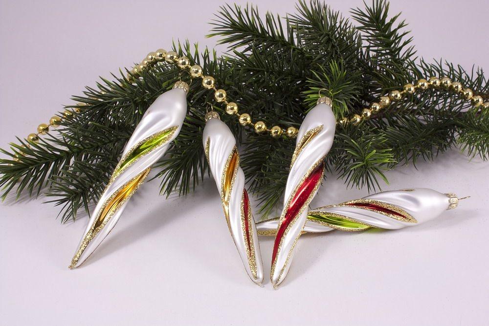 X mas bunte weihnacht christbaumkugeln for Bunte lampenschirme aus glas