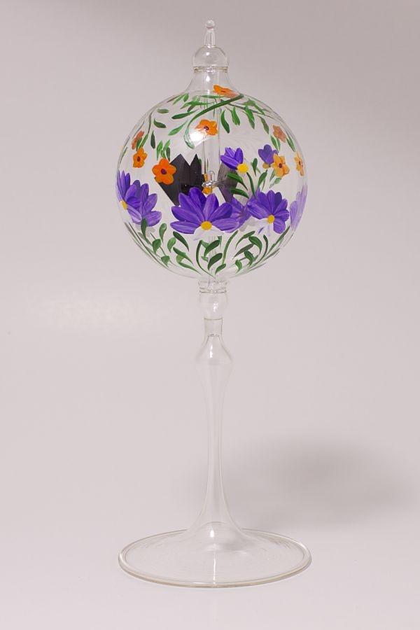 Lichtmühle Radiometer stehend 6cm violette Blume