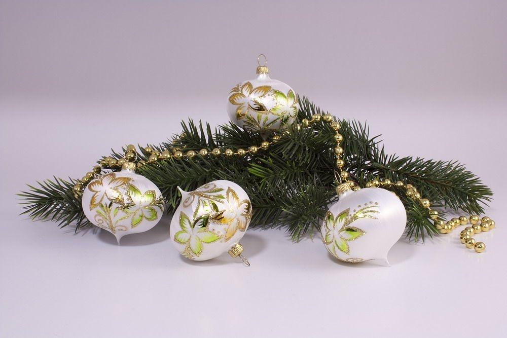 4 Zwiebeln Eisweiß gold & grün