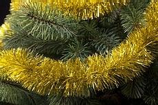 Girlanden für den Weihnachtsbaum