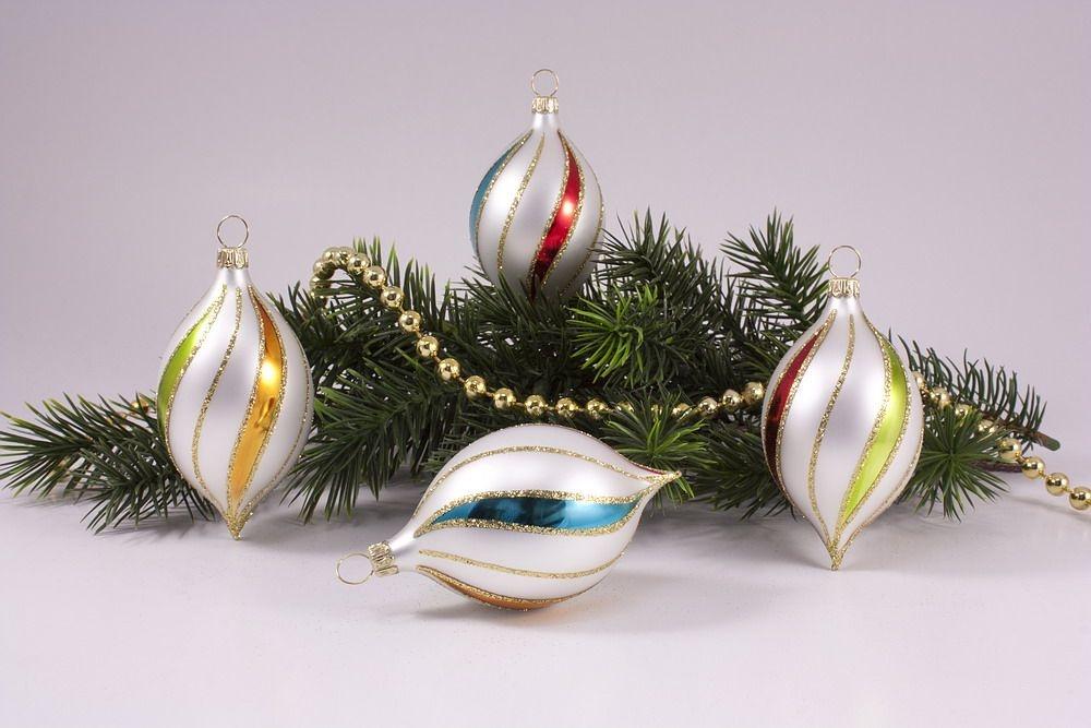 4 Zitronen bunte Weihnacht