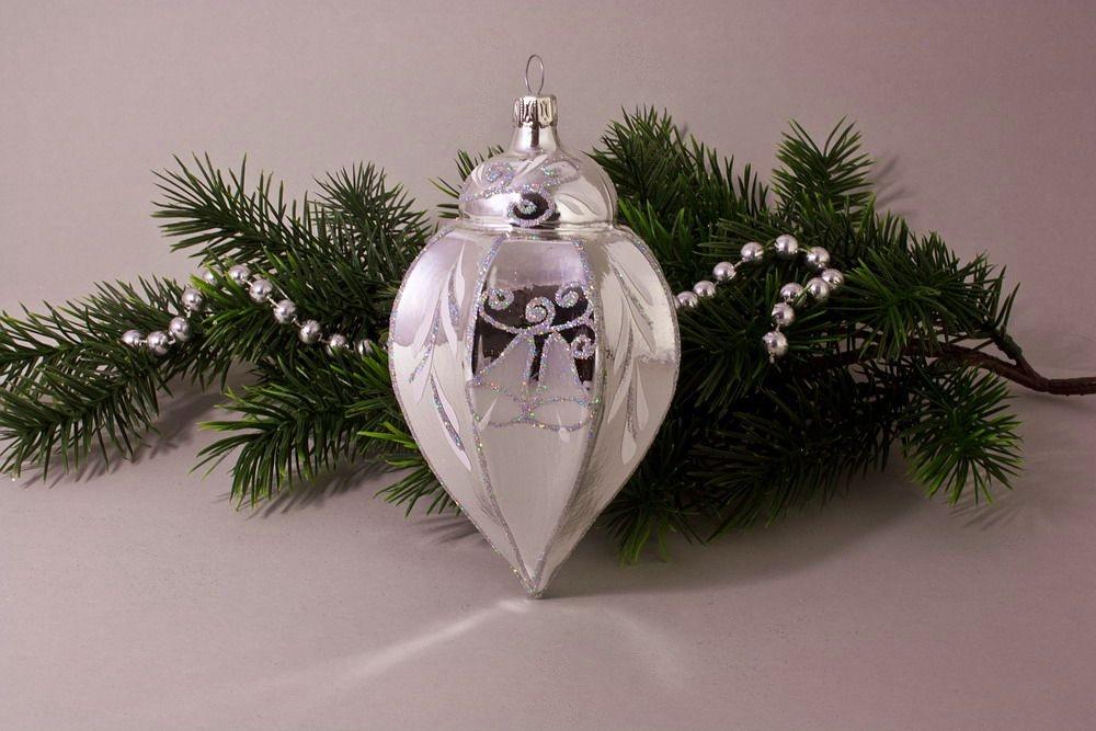 1 Zwiebelturm Silber Glanz Iris Glöckchen