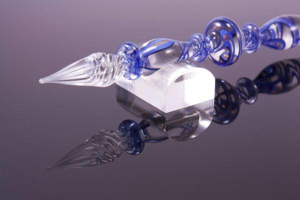 Stiftablage für Glasschreiber