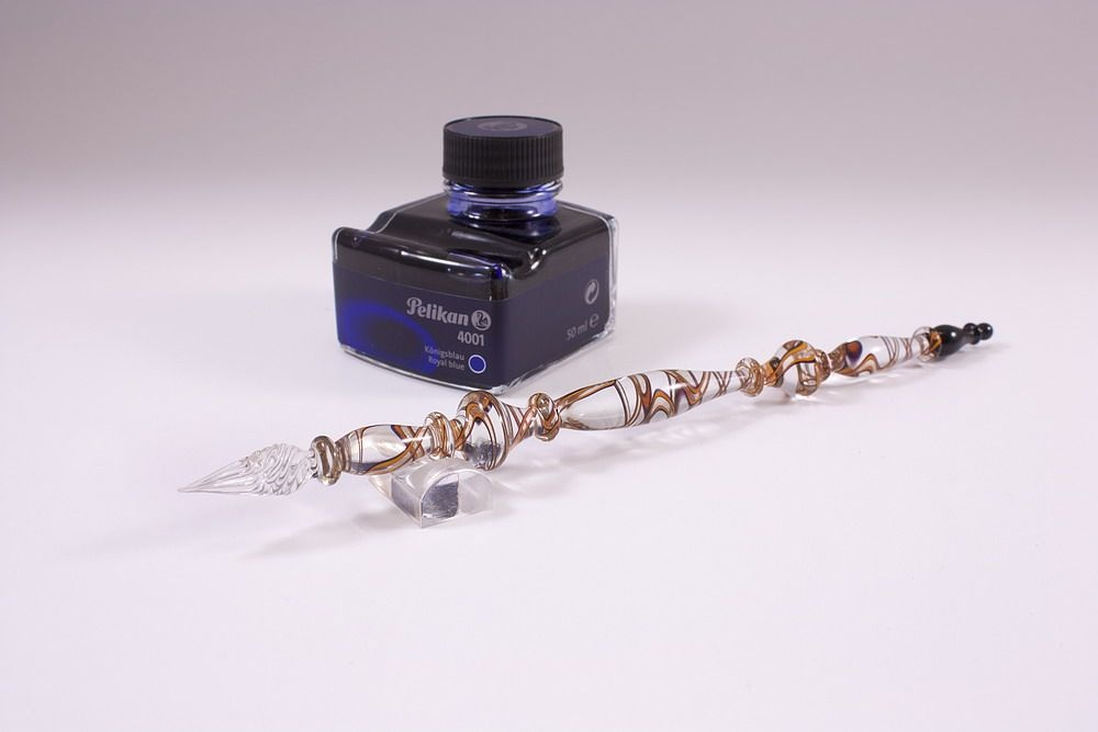Geschenkset mit de luxe braun mit Kupferaventurin