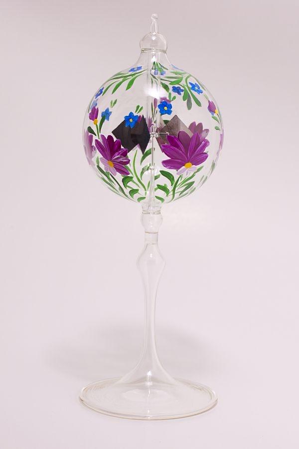 Lichtmühle Radiometer stehend 6cm fuchsia Blume