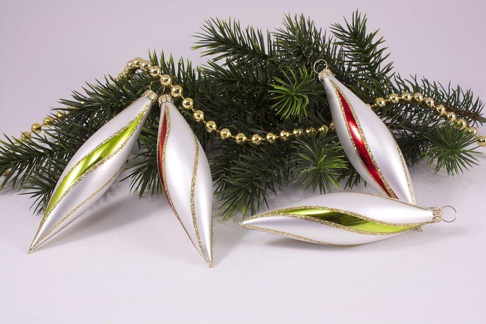 4 Oliven bunte Weihnacht