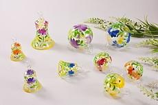 aktuelle Frühlings- und Sommerdeko aus Glas