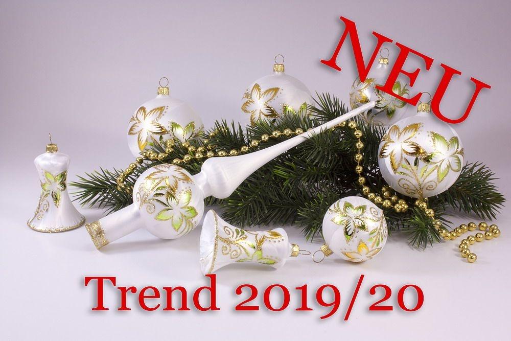 21teiliges Set Eisweiß gold & grün Trend 2019/2020