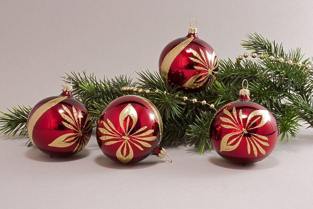Deutscher Hersteller Von Christbaumschmuck Und Weihnachtskugeln Aus Glas