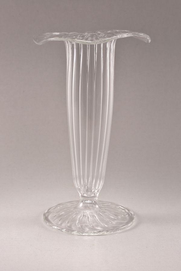 Mini-Vase aus Glas für Sektspieße transparent