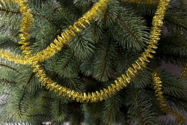 Spirale für den Weihnachtsbaum gold 3m x 15mm