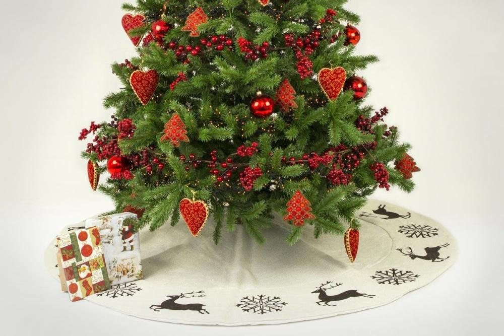 Baumdecke für den Weihnachtsbaum Hirsch