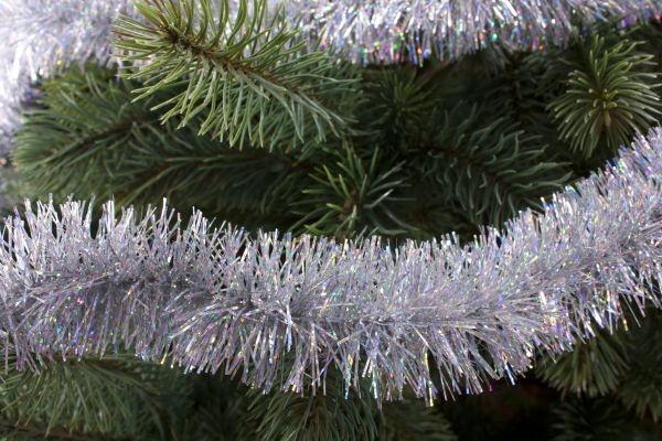 Girlande für den Weihnachtsbaum irisierend 50mm x 3m