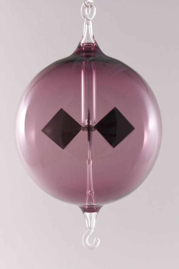 Lichtmühle Radiometer hängend 8 cm violett