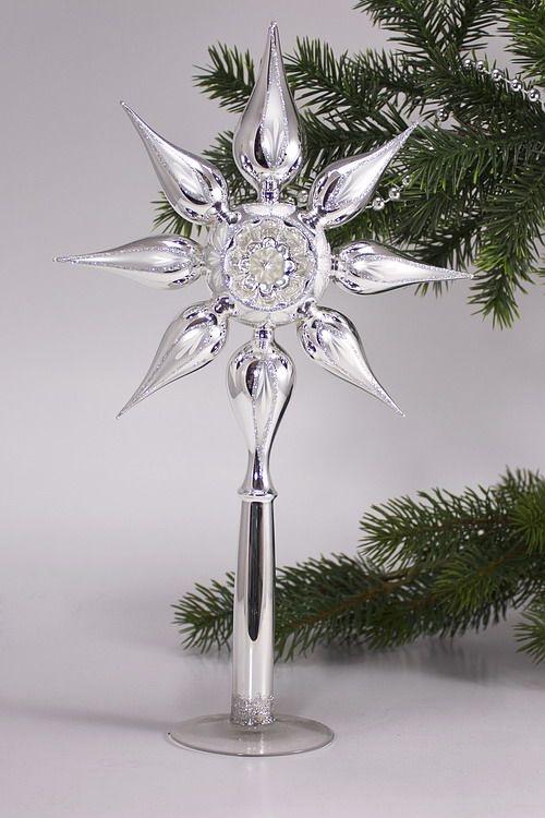 Sternspitze mit Reflex Silber