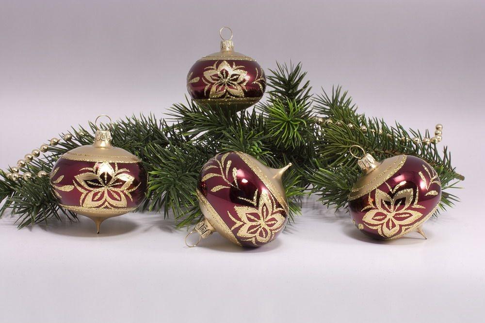 4 Zwiebeln Stierglanz mit Bronzedekor