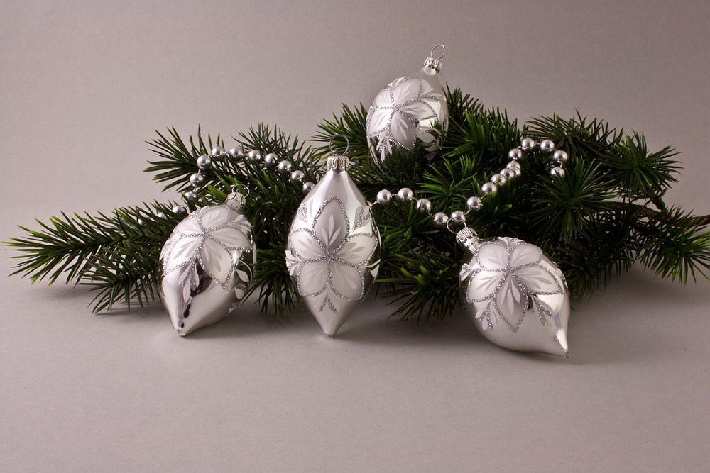 4 Zitronen Silber Glanz mit Christrose
