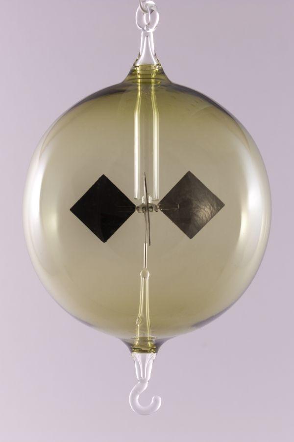 Lichtmühle Radiometer hängend 8 cm grün