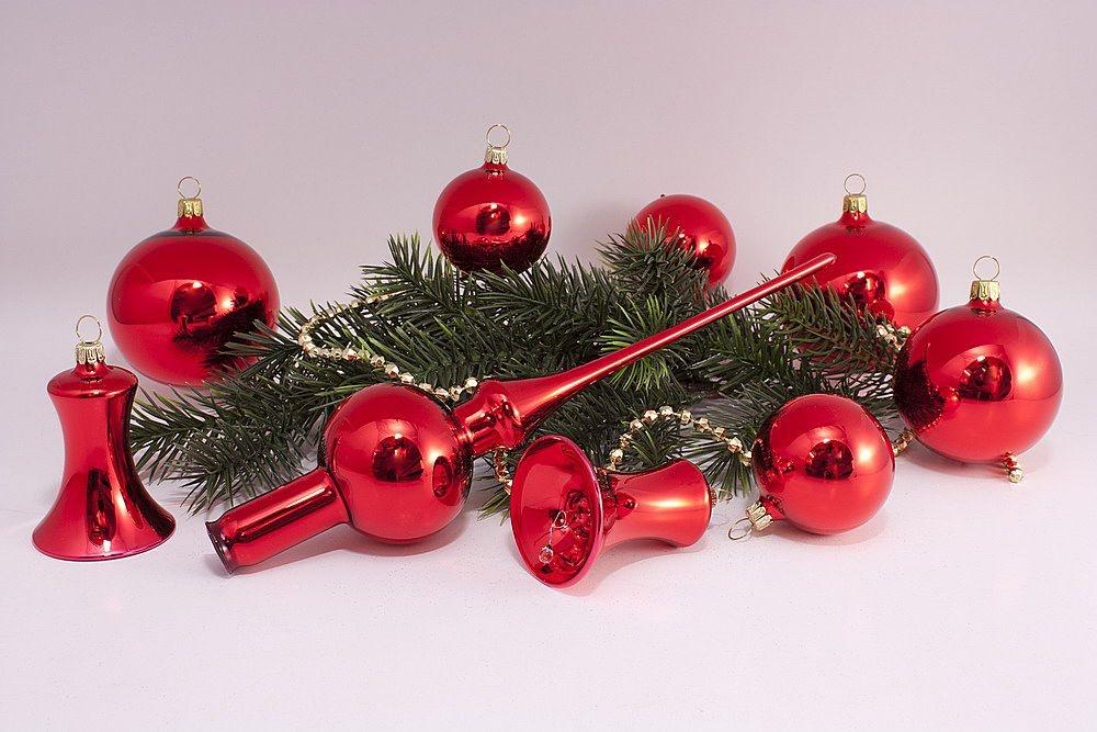 21tlg set rote weihnachtskugeln rot glanz uni christbaumkugeln christbaumschmuck und. Black Bedroom Furniture Sets. Home Design Ideas