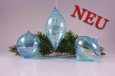 dekorative Glaskugeln