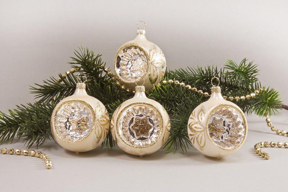 eis champagner gold christbaumkugeln christbaumschmuck und weihnachtskugeln aus glas. Black Bedroom Furniture Sets. Home Design Ideas