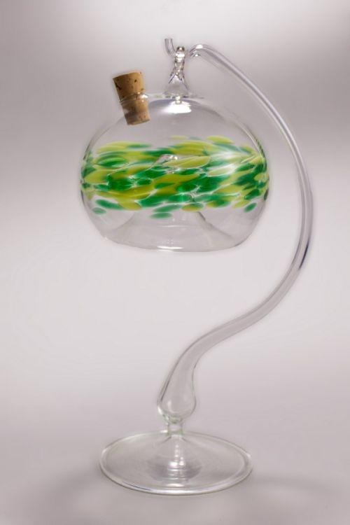 Obstfliegenfalle aus Glas grün sehr dekorativ