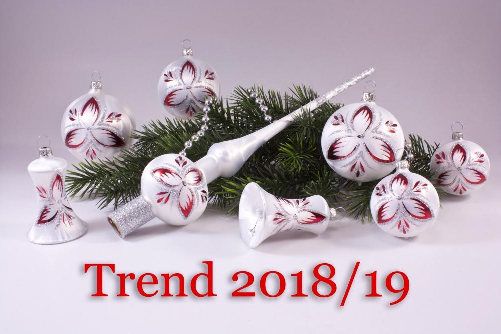 21teiliges Set Eisweiß rot  unser Trend 2018/19