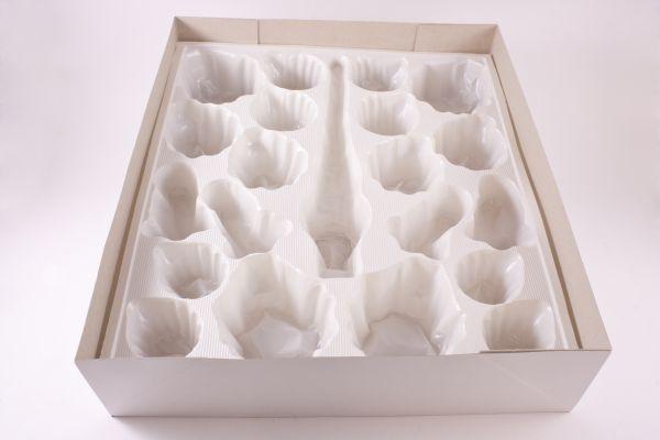 Box Christbaumkugeln.Box Für Christbaumkugeln Mit Pvc Einsatz Passend Für Ein 21tlg Set Mit Spitze Kugeln Und Glöckchen