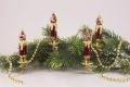 Christbaumschmuck Stierglanz 4 kleine Kerzen